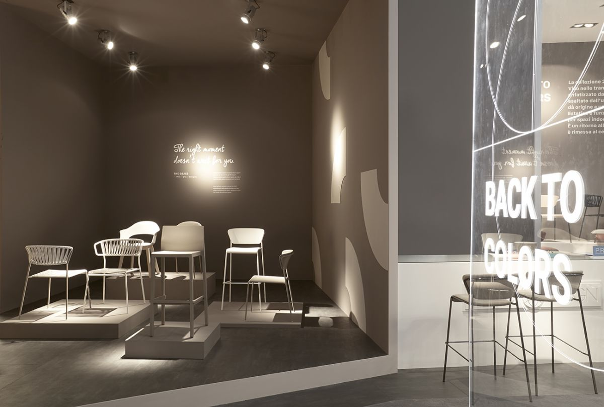 Salone del Mobile 2019 - SCAB Design: Back to colors