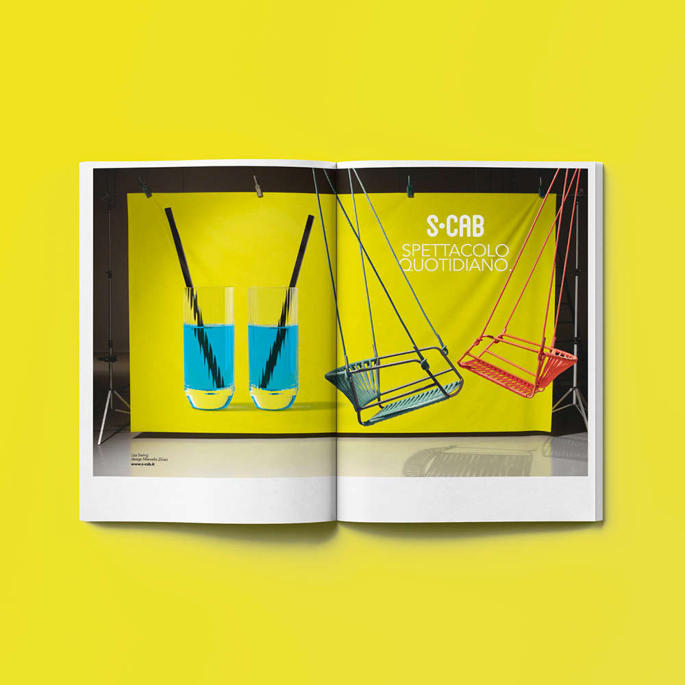 For Lisa Swing a new campaign in an explosion of colours and lightness