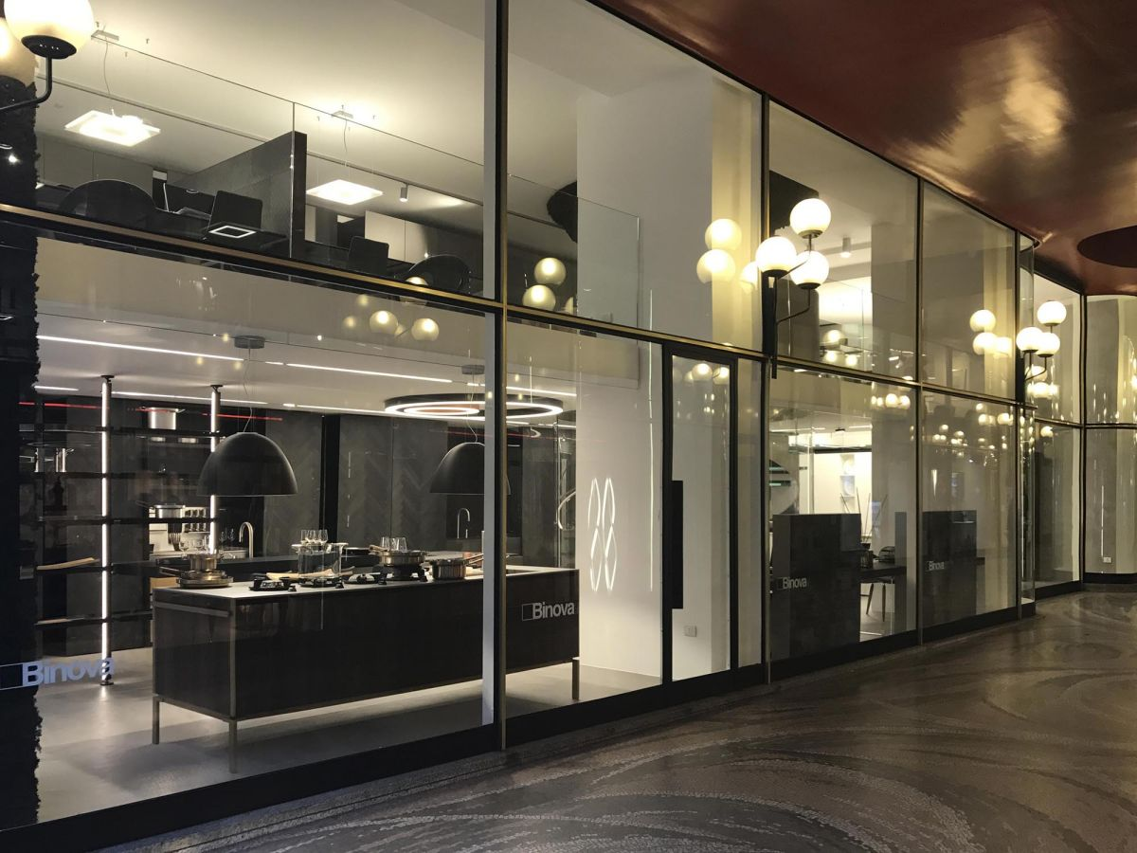 Scab design comes in the heart of milan for Cucine design milano