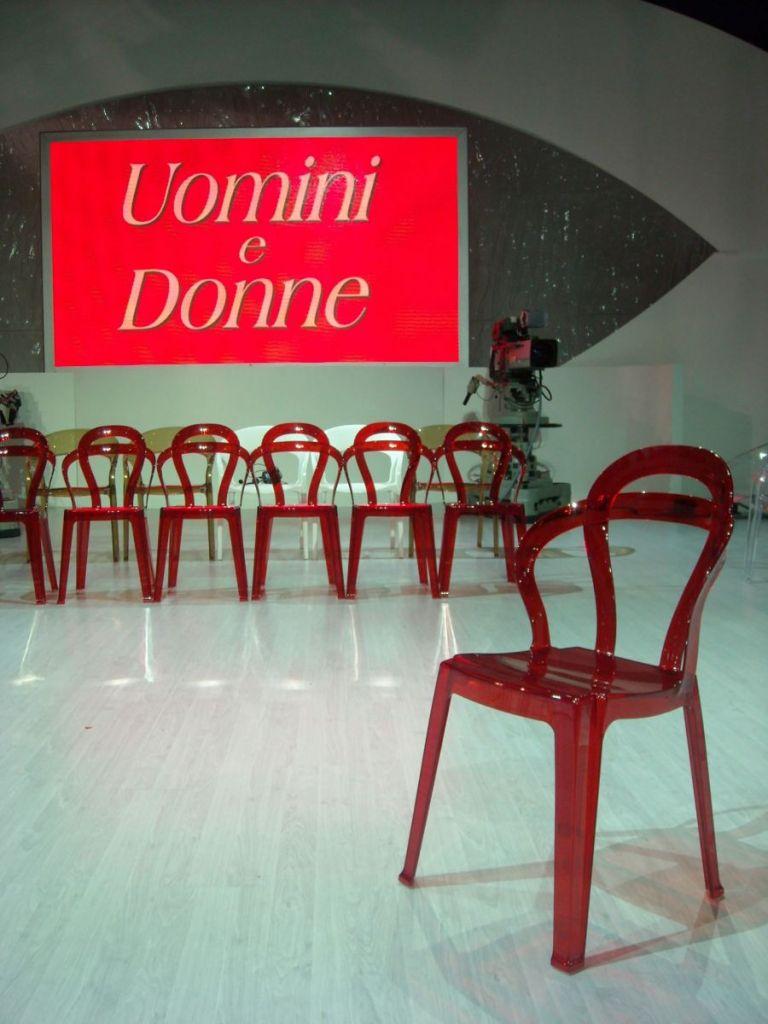 Uomini e donne - Canale 5 - sedie TiTì
