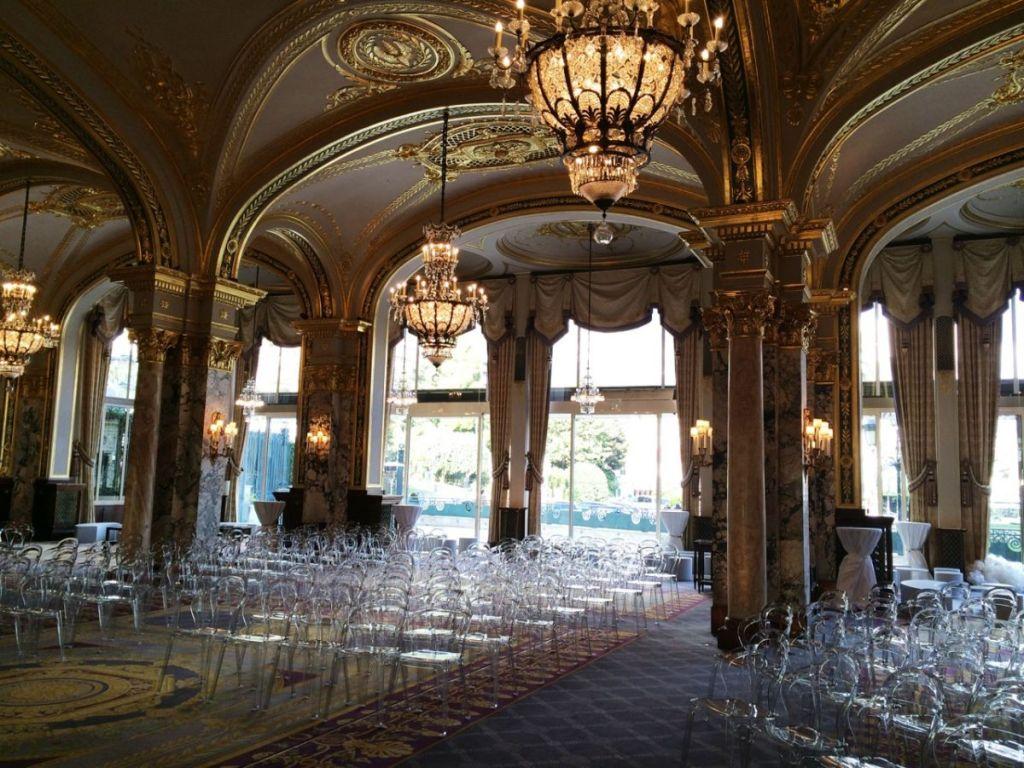 Evento ubs meeting salle empire hotel de paris monaco for Hotel de paris