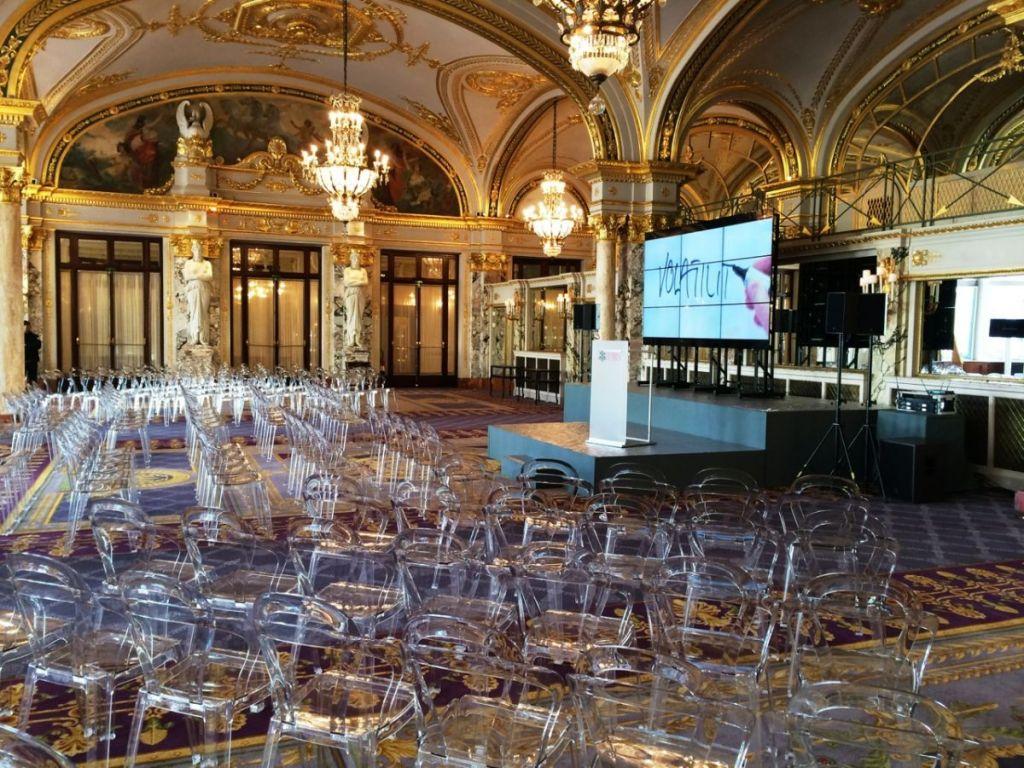 Evento - UBS  Meeting- Salle Empire, Hotel de Paris, Monaco