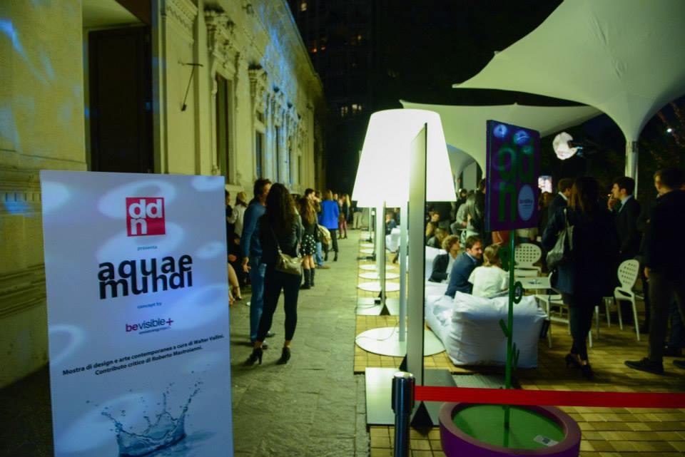 SCAB Design per AQUAE MUNDI @QC TERME MILANO for Design Week & Expo 2015.