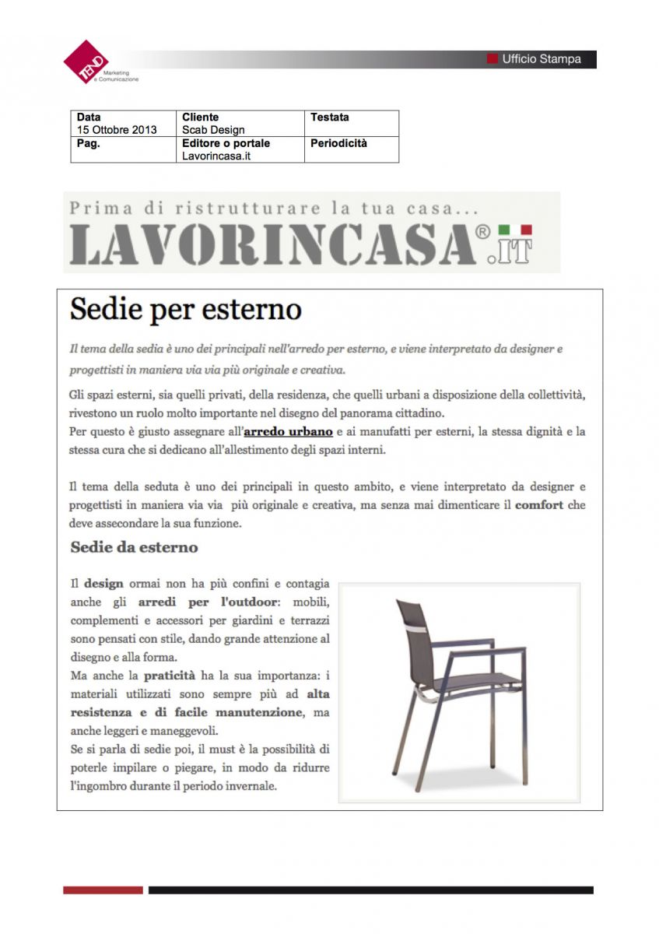 lavorincasa.it - 15 Ottobre 2013
