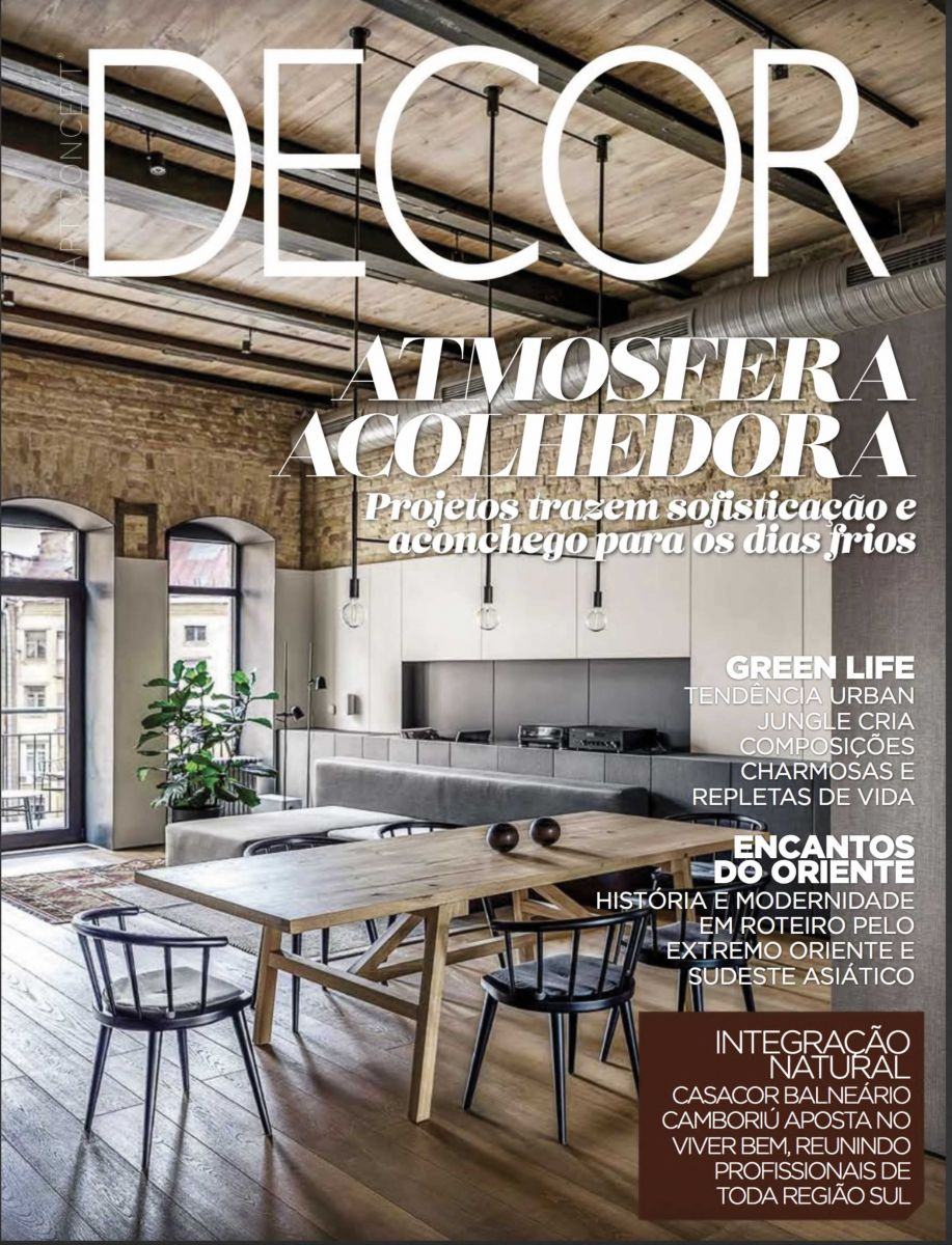 Revista Decor - Agosto 2019 - Brasile